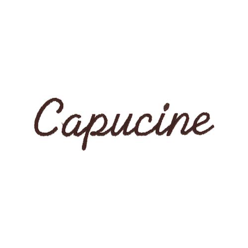 Ecriture de broderie style à la main - Capucine