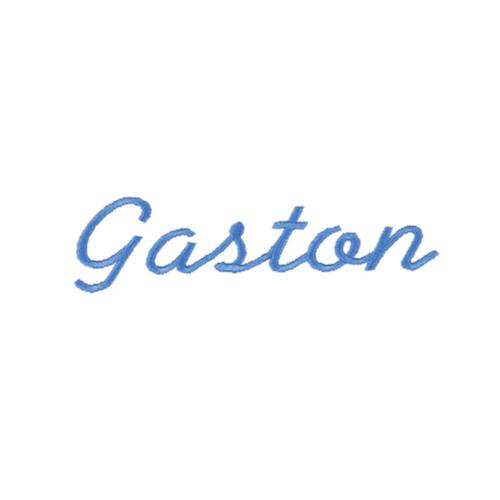Ecriture de broderie style à la main - Gaston