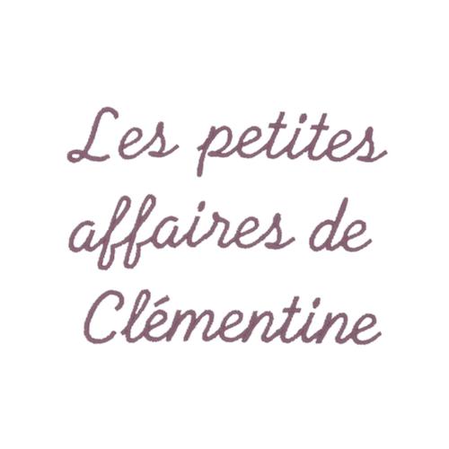 Ecriture de broderie style à la main - Clémentine