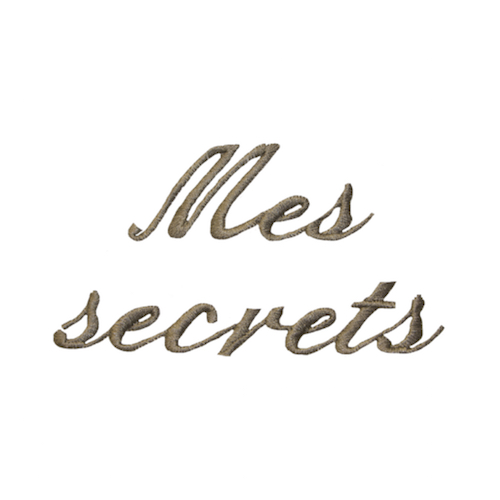 Broderie Anglaise - Secrets