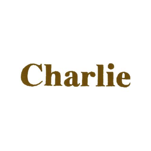 Typographie machine classique - Charlie