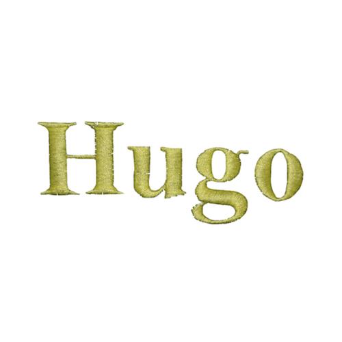 Typographie machine classique - Hugo