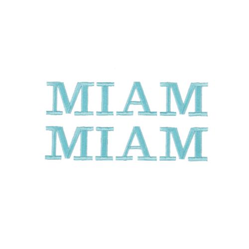 Broderie personnalisée - Miam Miam