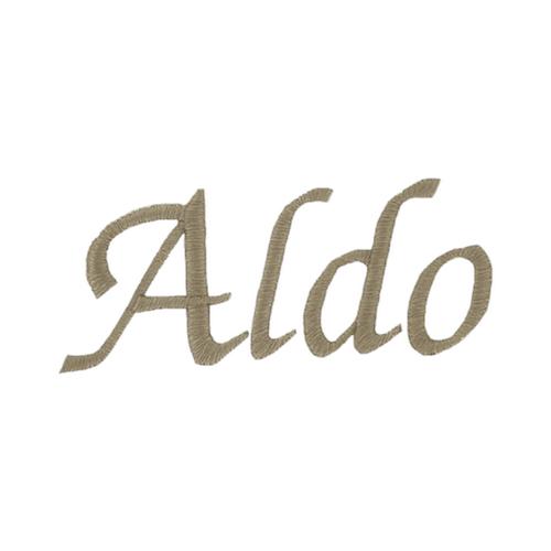 Typographie moderne et élégante - Aldo