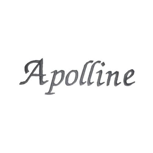 Typographie moderne et élégante - Apolline
