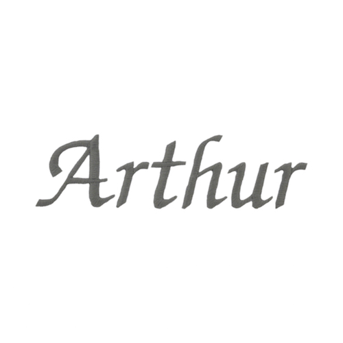 Typographie moderne et élégante - Arthur