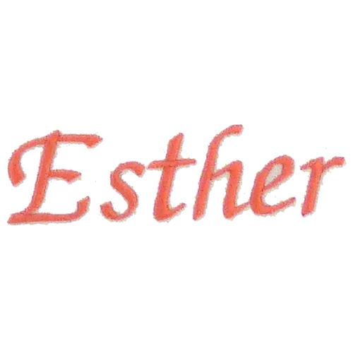 Typographie moderne et élégante - Esther