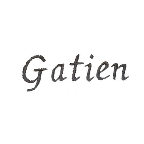 Typographie moderne et élégante - Gatien