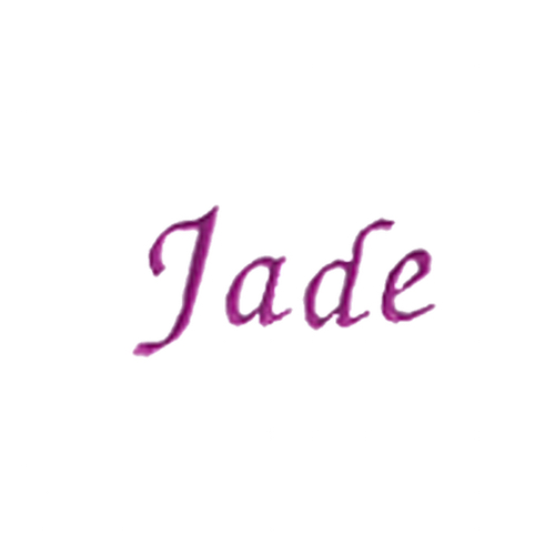 Typographie moderne et élégante - Jade