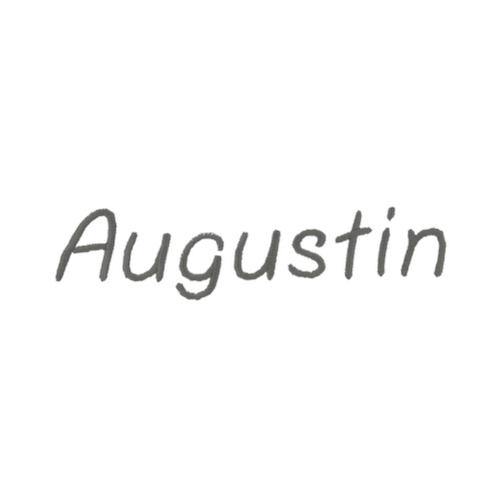 Broderie enfantine - Augustin