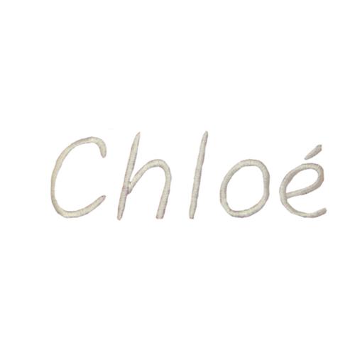 Broderie enfantine - Chloé