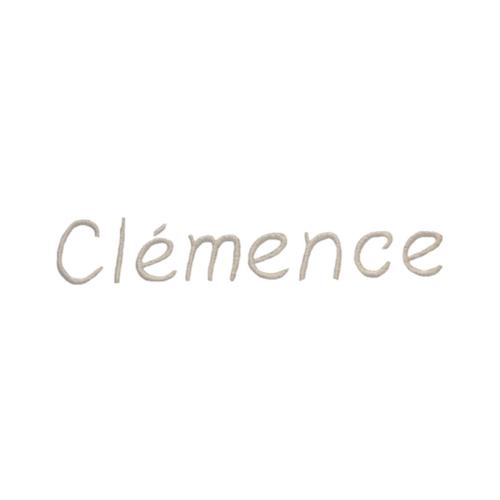 Broderie enfantine - Clémence