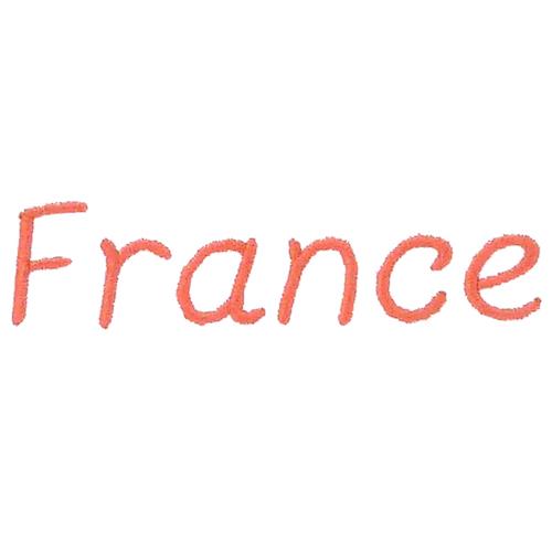 Broderie enfantine - France