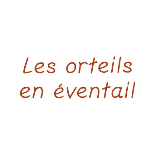 Broderie enfantine - Orteils