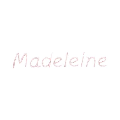 Broderie enfantine - Madeleine
