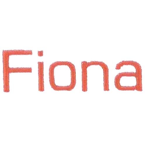 Broderie baton - Fiona