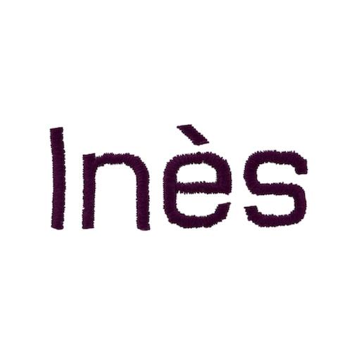 Broderie baton - Ines