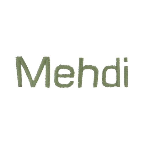Broderie baton - Medhi