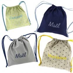 sac à dos en tissus personnalisable et fabriqué en france